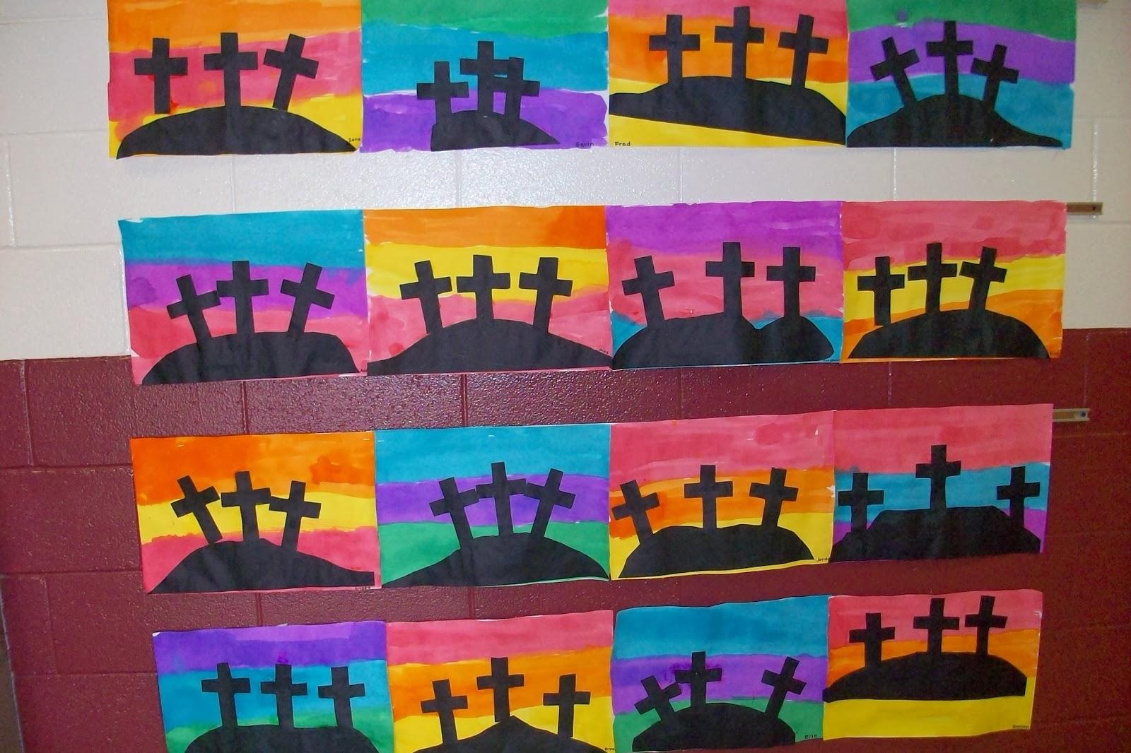 Eatayavel Teach Holy Week In Kindergarten