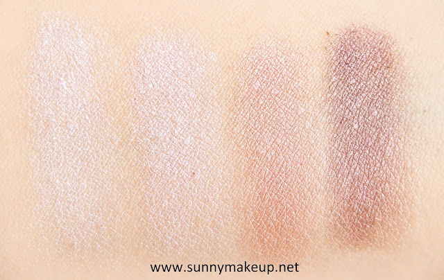 Swatch Pupa - Pink Muse. Collezione di makeup primavera 2017. Pink Muse Vamp! Palette.