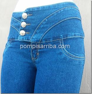 Pantalón de mezclilla barato jeans por mayoréo 2016 short capri corte colombiano