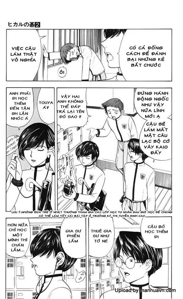 Hikaru No Go hikaru no go chap 16 trang 9