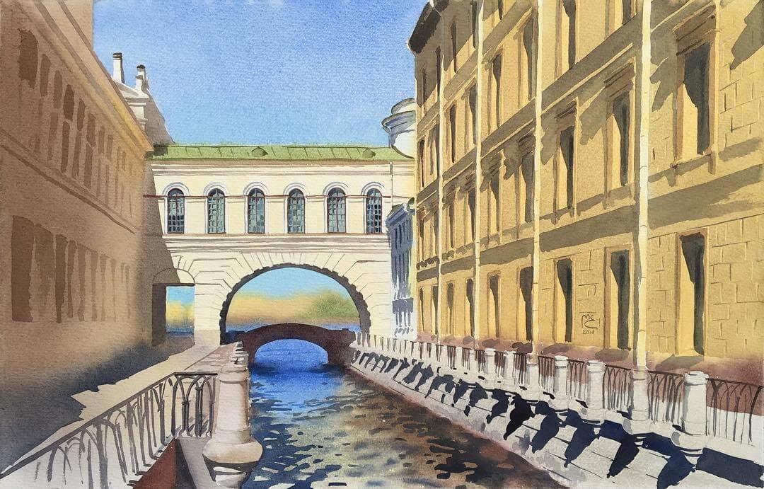 03-Rhythms-of-St-Petersburg-Eleanor-Mill-European-Architecture-in-Watercolor-Paintings-www-designstack-co