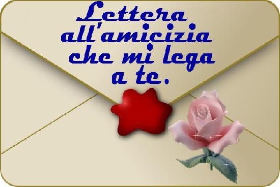 Alla Nostra Amicizia Bellissima Lettera Sull Amicizia