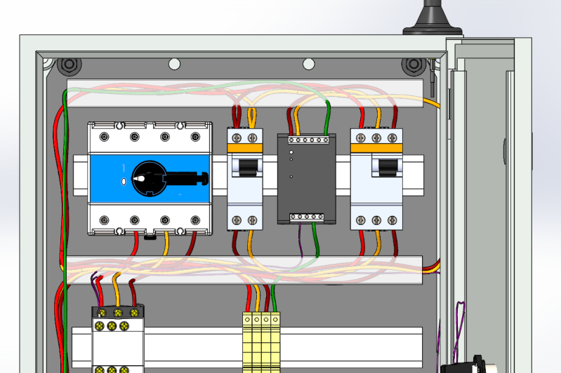 SolidWorks Electrical Solutions For Control Panel Design