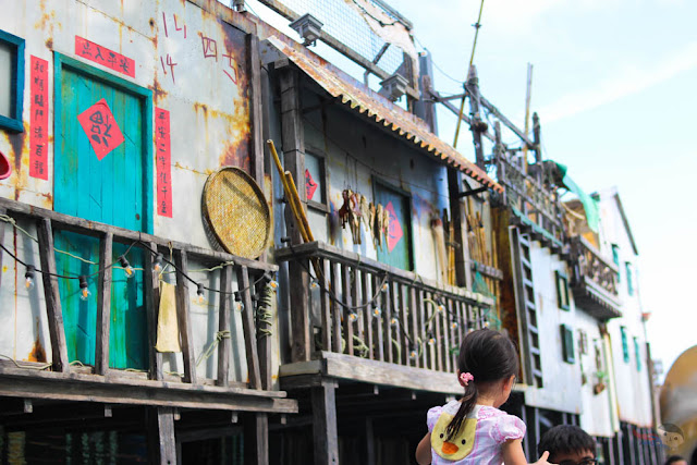 Fisherman Houses in Ocean Park Adventures