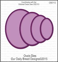 ODBD Custom Ovals Dies