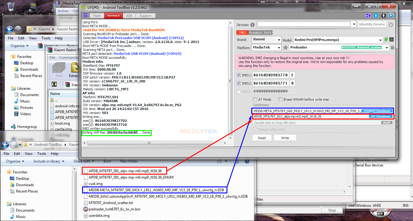 dokistea: Cara Memperbaiki NVRAM WARNING: ERR 0x10 pada SoC MTK