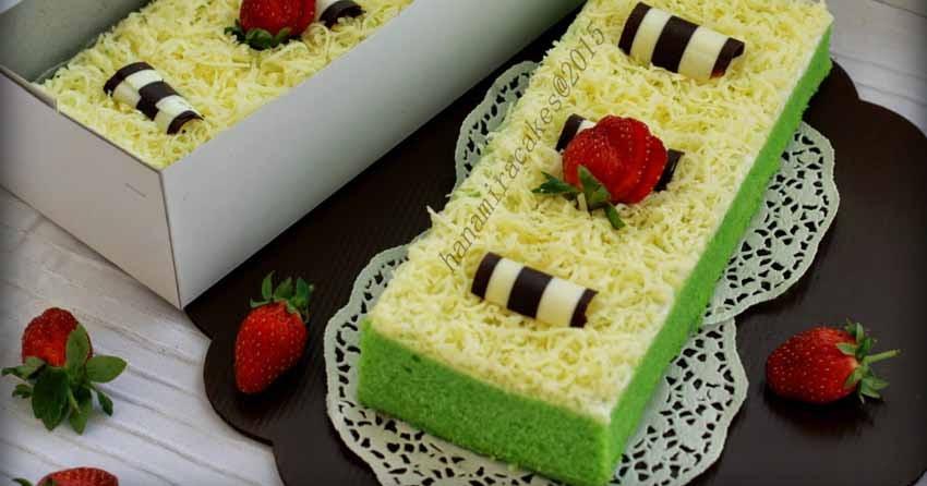 Resep Cake Kukus Modern: Resep Brownies Keju Pandan Kukus Ny Liem Memang Anti Gatot
