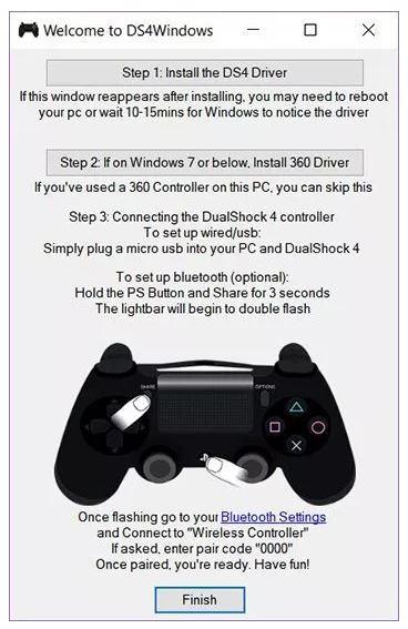Cara Menggunakan Controller PS4 di PC
