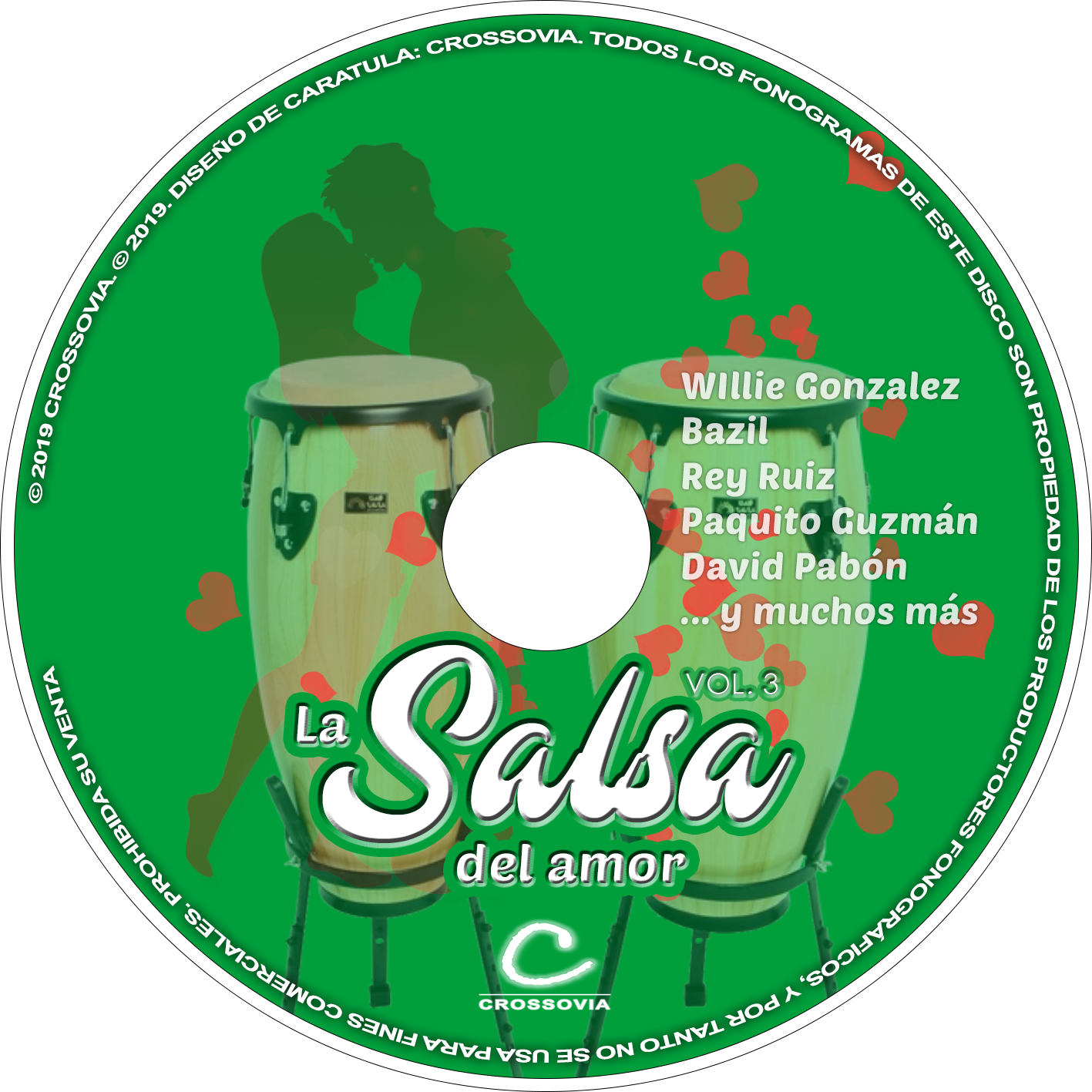 La salsa del amor vol 3 2019 crossovia for Jardin prohibido salsa