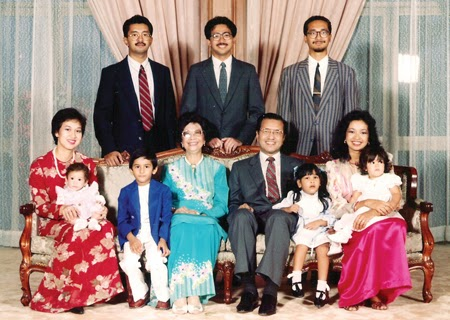 Gambar Family Mahathir