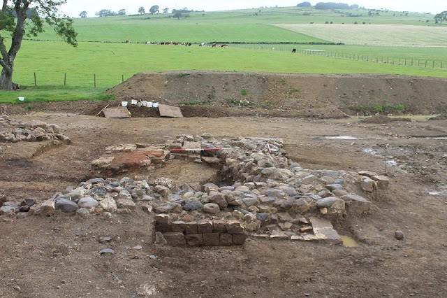 Roman kiln, skeleton unearthed along proposed water pipeline route in Cumbria