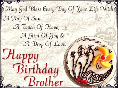 Happy Birthday WishesQuotesWallpaper for BrotherSister First – Happy Birthday Greetings to a Brother