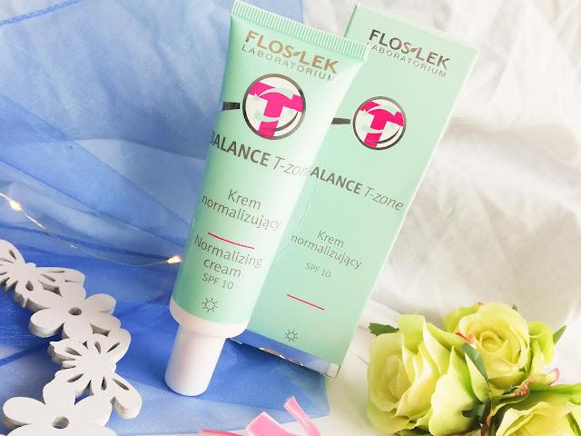Floslek | Balance T-zone. Normalizing Cream SPF 10 | Krem normalizujący