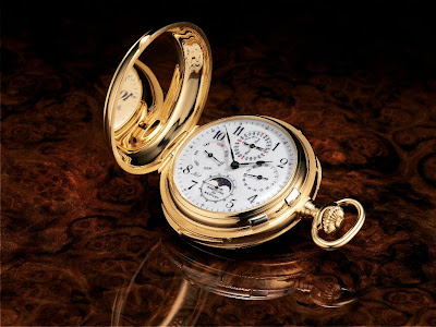BREITLING for Bentley Grande Complication Bentley Masterpiece 2004 - One of a Kind Pocket Watch with Chronograph, Minute Repeater and Perpetual Calendar