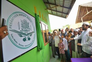 Wakil Gubernur Aceh Berhutang Di Pesantren Auqah Binaul Ummah