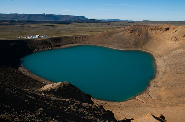 Cráter Viti Islandia