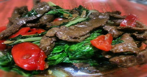 Beef With Bok Choy In Oyster Sauce Recipe