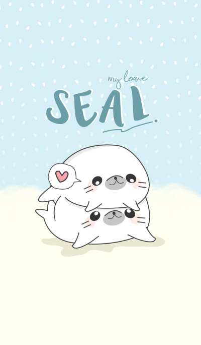 Seal my love (Blue ver.)
