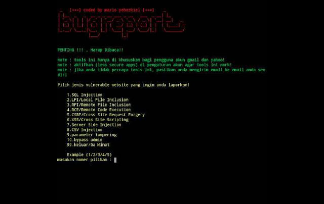 Bugreport - Tools Untuk Report Bug