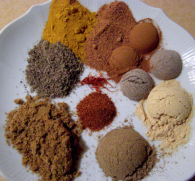 Plate of All Spices in this Recipe