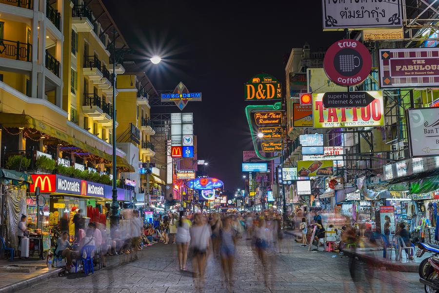 Backpacker kennenlernen thailand