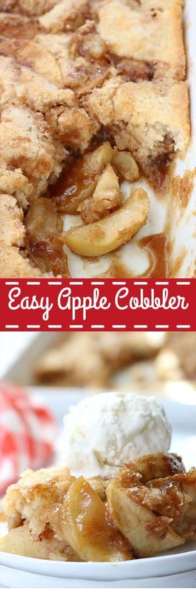 Easy Apple Cobbler