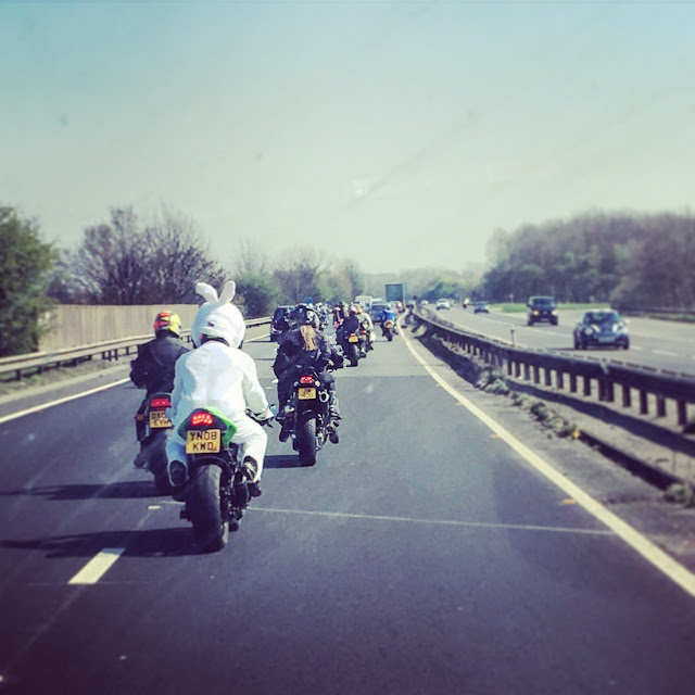 Squires Cafe Easter Egg Run 2017