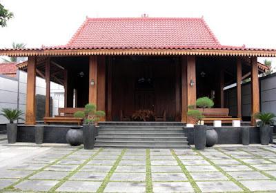 Contoh Desain Rumah Limasan Modern Minimalis Jual Rumah Limasan
