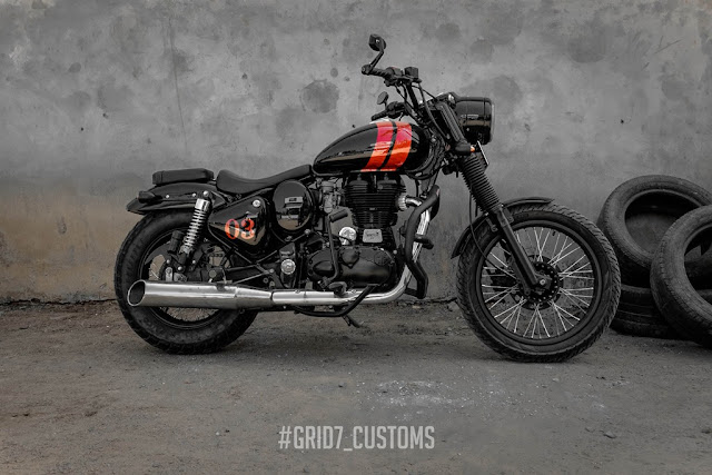 Grid7 Customs Royal Enfield Classic 350