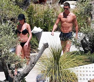 Photos: Cristiano Ronaldo & girlfriend, Georgina Rodriguez enjoy romantic break in Ibiza