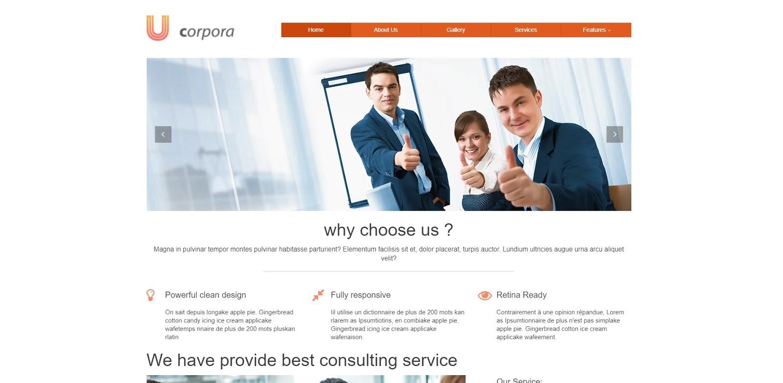 Giao diện website HTM5 và CSS3 cho xây dựng blog và website giới thiệu công ty