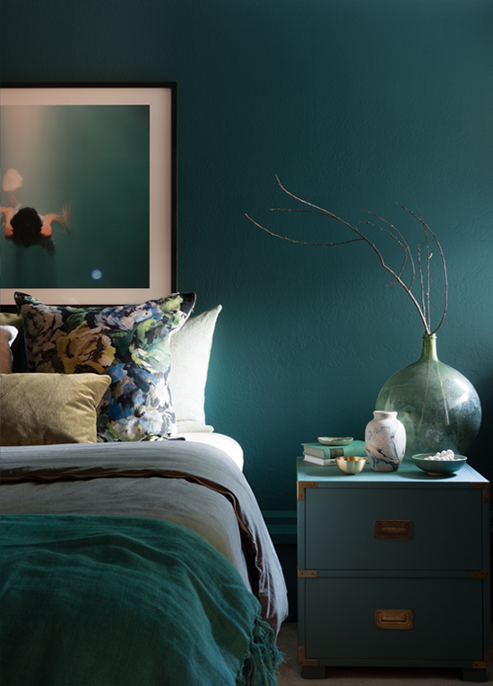 A Peek Inside the Design Process of My Teal Bedroom — A FABULOUS ...