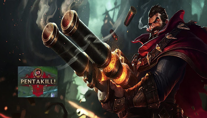 Graves Pentakill ARAM-ARAMA - League of Legends | LoL
