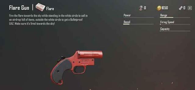 Fungsi Flare Gun PUBG Mobile Update 0.8.0