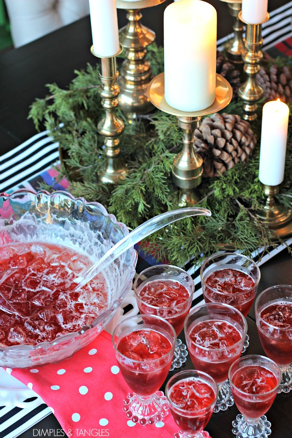 Favorite recipes for the Holidays  ||  Holiday Party Recipe Ideas  ||  easy punch recipe