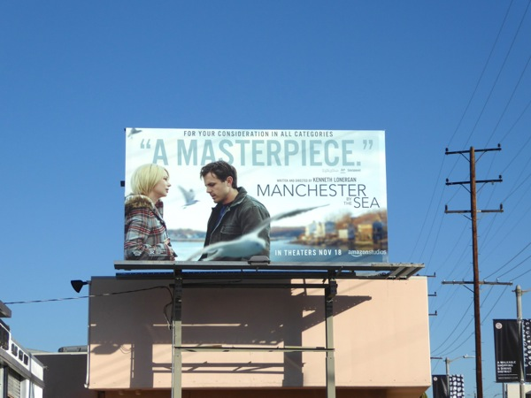 Manchester By the Sea film billboard