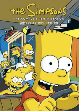 Os Simpsons - 10ª Temporada Desenhos Torrent Download capa