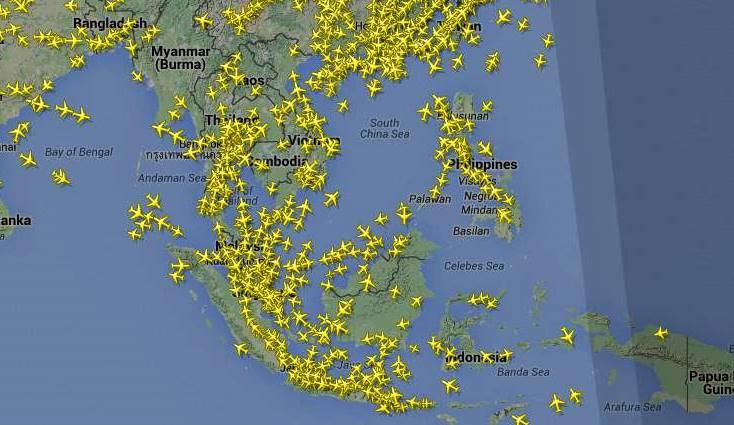 Lalu Lintas Pesawat Udara Indonesia