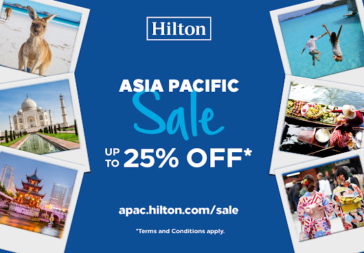 Hilton Announces South East Asia Year-End Sale | The Frenchraisins