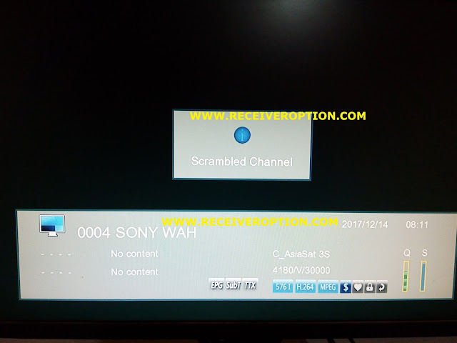 TIGER O5 HD RECEIVER POWERVU KEY OPTION