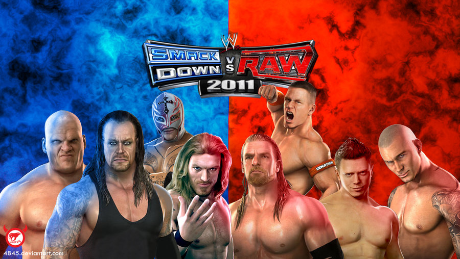 Smackdown vs raw wwe game free download.