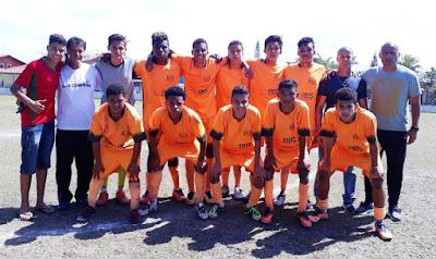 No sábado 08/09 de futebol, equipes da Ilha venceram e se classificaram para as semifinais do campeonato estadual escolar