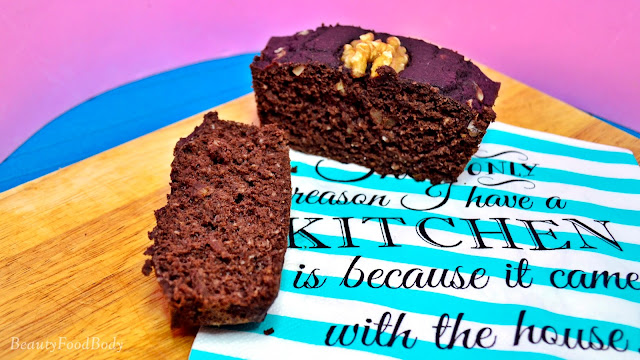 receta brownie fit saludable sin lactosa vegano chocolate avena