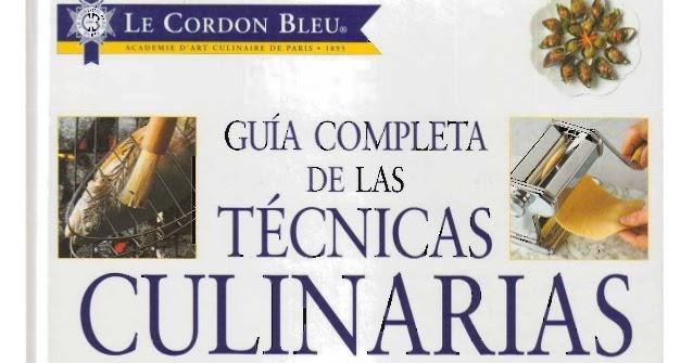 Comunidad de software gu a completa de las t cnicas for Tecnicas culinarias pdf