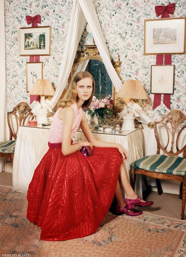 Halcyon Days by Venetia Scott for Vogue UK November 2014