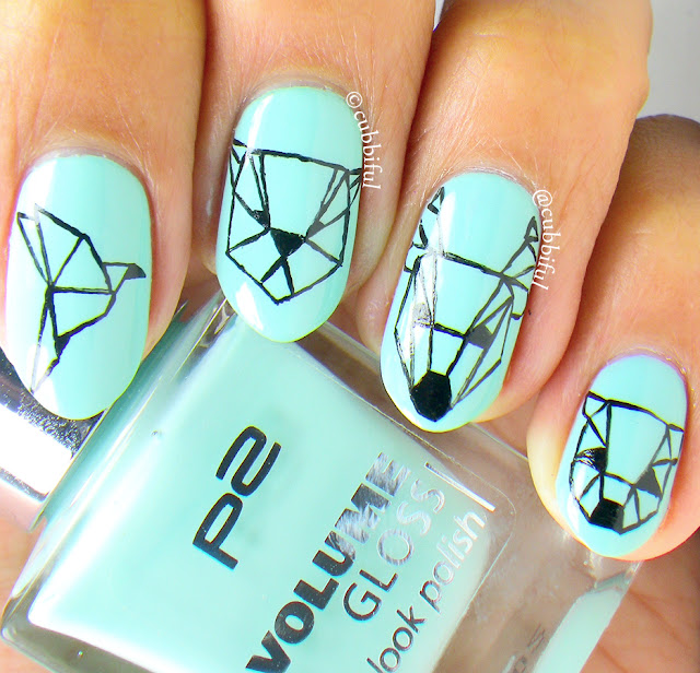 Origami Animal Nails