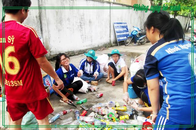 Phân loại rác tái chế