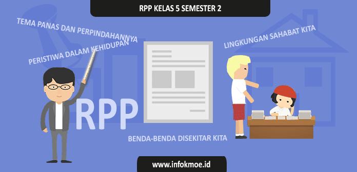 Download RPP RPP Kelas 5 SD Semester 2 Kurikulum 2013 Revisi 2017 - Info [K-Moe]