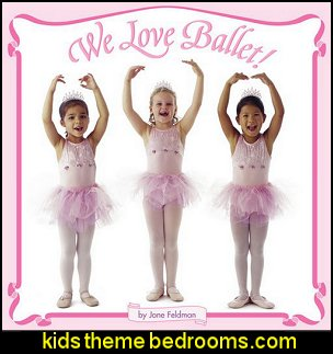 We Love Ballet  ballerina bedrooms - ballerina bedroom decorations - Ballet Theme Bedroom ideas - ballerina wall mural decals - Prima Ballerina bedroom decorating theme - swan lake bedroom ideas - ballerina bedroom wall decorations - swan lake wall decor