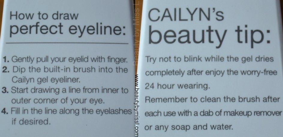 Cailyn Line-Fix Gel Eyeliner tips